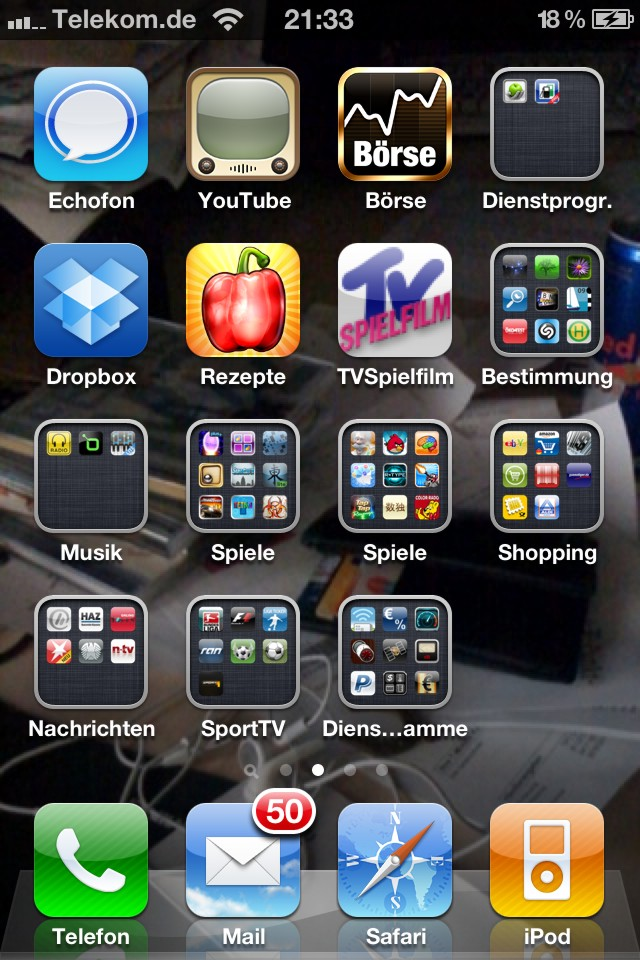 neuen ordner anlegen iphone