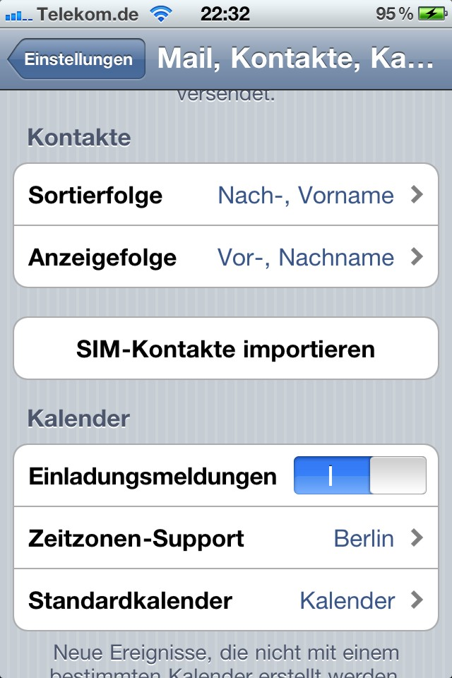 Iphone Kontakte Von Sim Auf Handy Übertragen