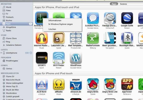 Apps löschen iphone 5se