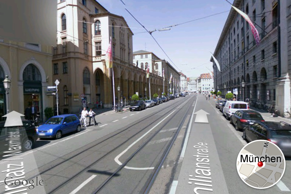google street view iphone view auf dem iphone 2942